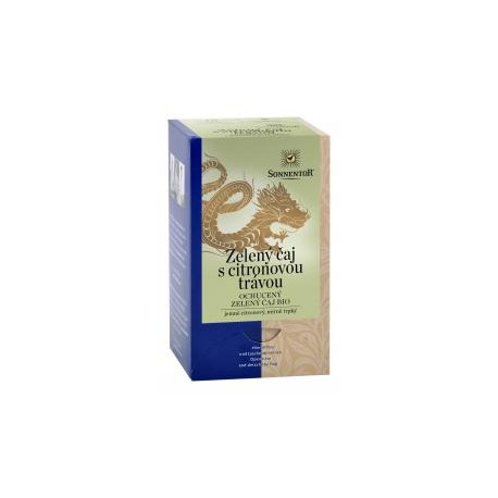 Sonnentor Zelený čaj-citronová tráva bio 21,6g porc.dvoukomorový