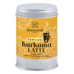 Sonnentor Kurkuma Latte vanilka bio 60 g dóza