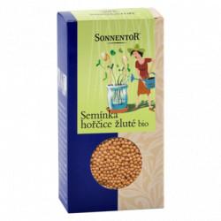 Sonnentor Semínka hořčice žluté bio 120 g krabička