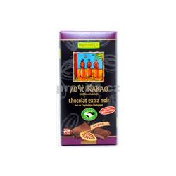 Čokoláda hořká 70% 80g BIO RAPUNZEL