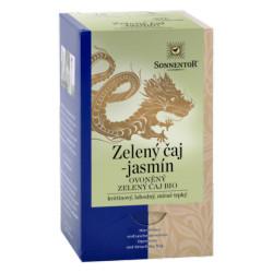 Sonnentor Zelený čaj - jasmín bio 27 g porcovaný dvoukomorový
