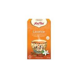 Bio Lékořice Yogi Tea 17 x 1,8 g