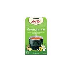 Bio Zelený jasmín Yogi Tea 17 x 1,8 g